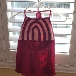 Girls Knitted halter top